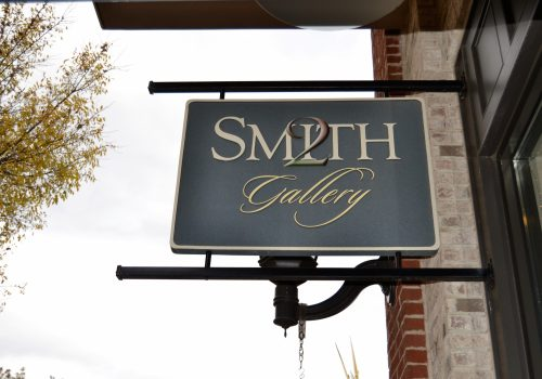 2 Smith Gallery sign