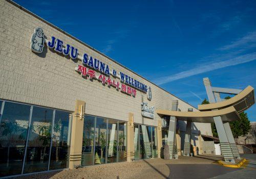 JeJu Sauna & Wellbeing storefront