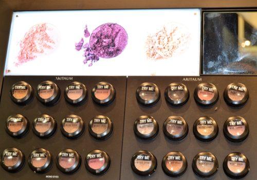 face makeup samples