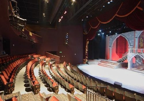 Aurora stage and seating