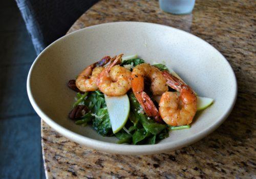 bowl of shrimp