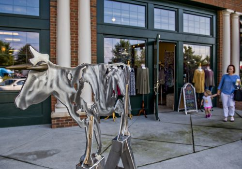 iron horse sculpture