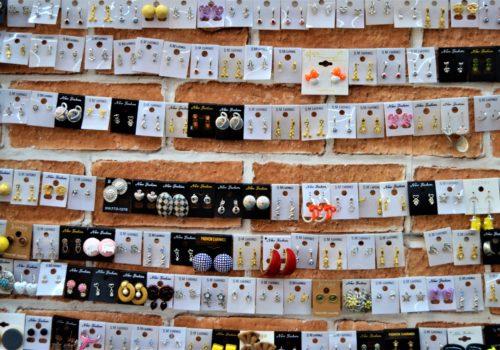packs of earrings