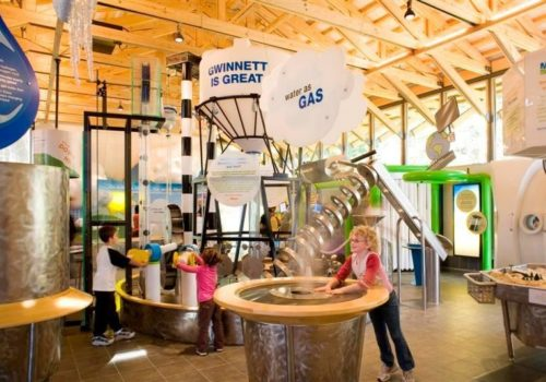 inside Environmental Heritage Center