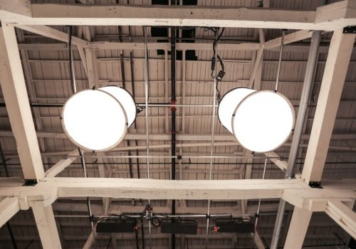 large light fixtures