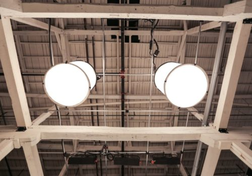 large light fixtures