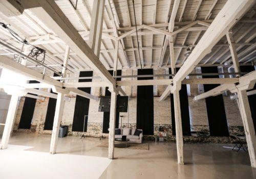 inside production facility
