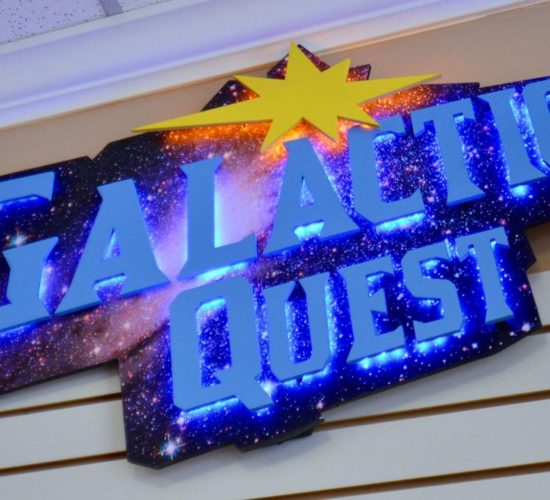 Galactic Quest Sign
