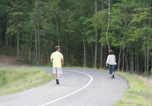 walking trail