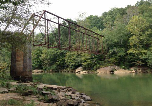 Settles Park bridge