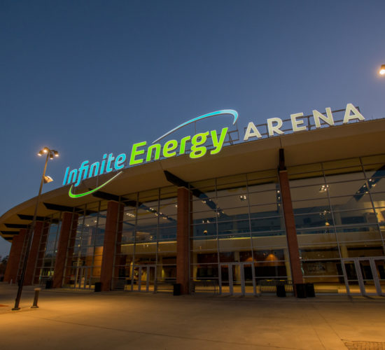 Infinite-Energy-Arena night
