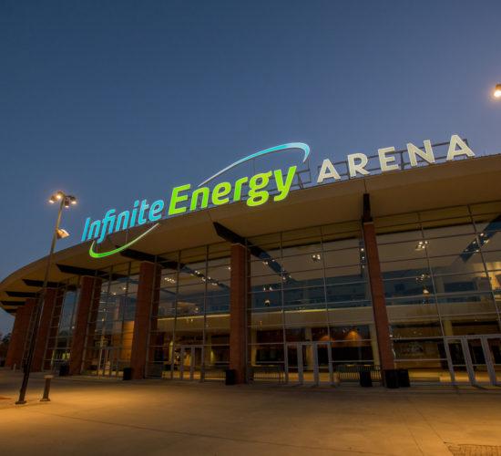 Infinite-Energy-Arena night