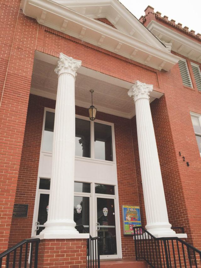 Aurora Theater outside