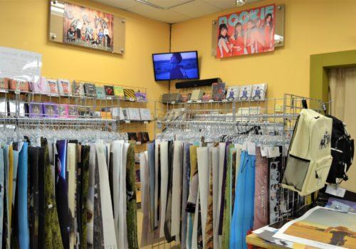KPop store merchandise