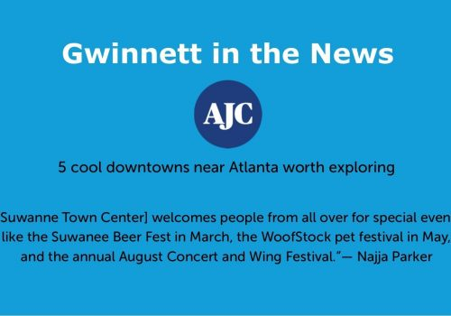 Gwinnett in the news slide