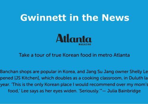 Gwinnett in the news slide