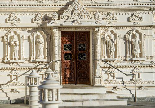 doors to Mandir