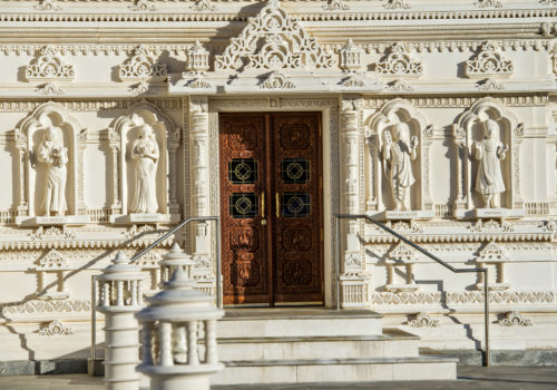 doors to Mandir