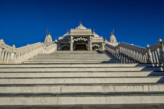 Mandir steps