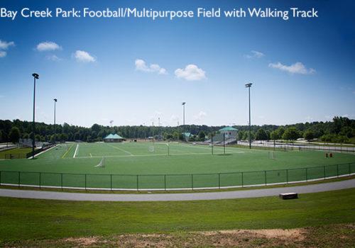 Bay Creek Park field