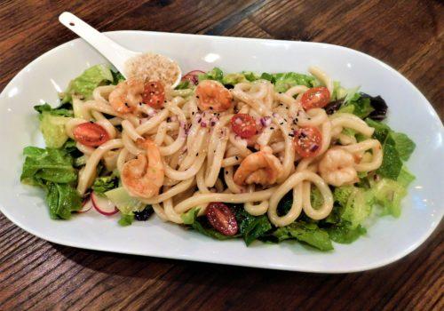 shrimp noodle dish