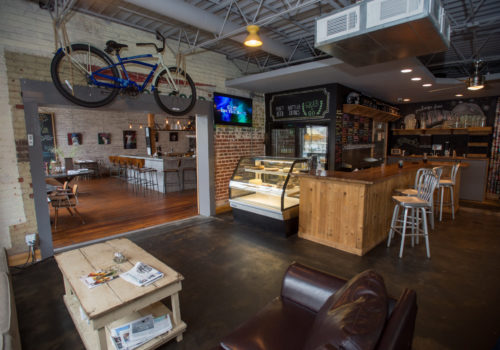 inside Burgers and Brews