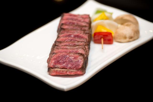 steak and kebabs
