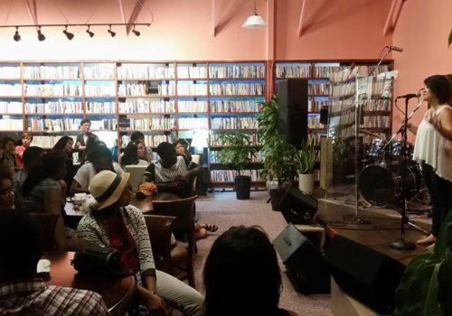 inside Cafe Rothem