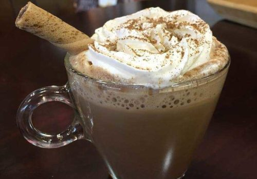 chocolate coffe drink