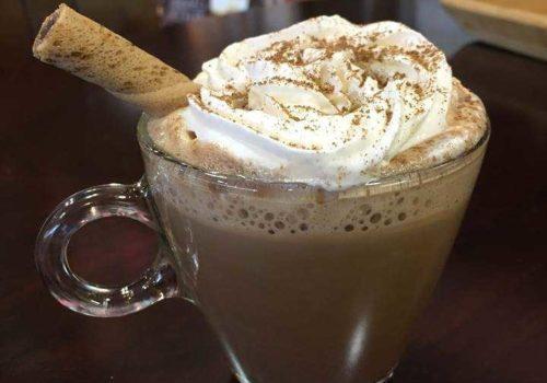 chocolate coffe drink