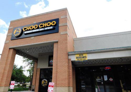 outside Choo Choo restaurant
