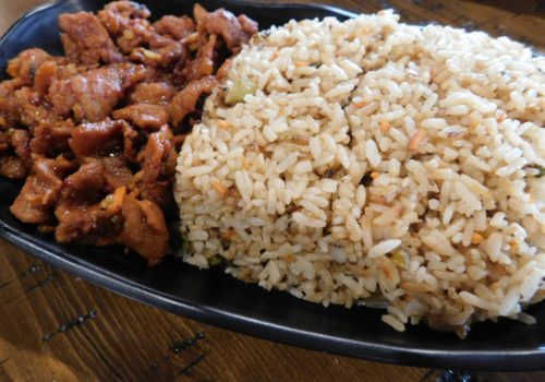 rice and meat dish