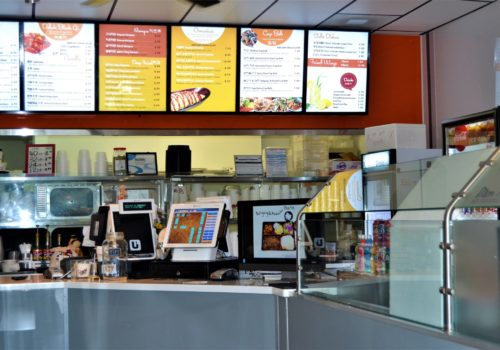 restaurant order counter