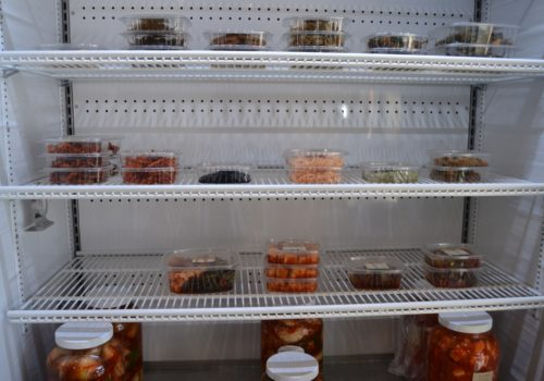 containers of food
