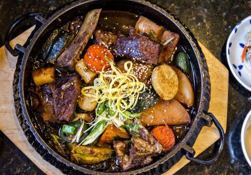 platter of food