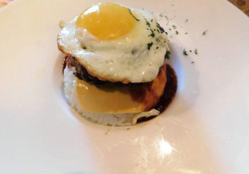 fried egg dish