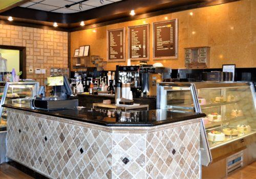 bakery counter