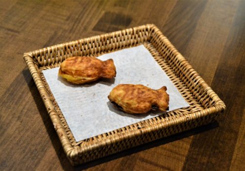 fish-shaped Korean pastry on a plate
