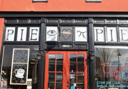 outside pie store