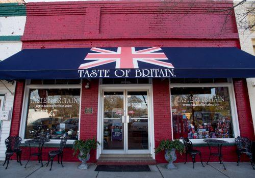 Taste of Britain storefront