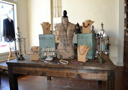 display of jewelry
