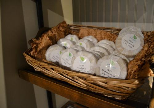 basket of soap