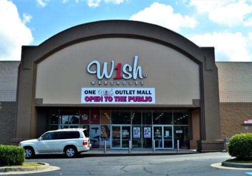 W1sh warehouse storefront