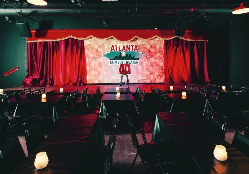 Atlanta Comedy Theater stage