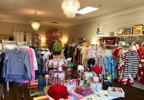 Bella Blue store inside