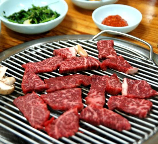 Korean Barbecue Hoenggye Hanu 01