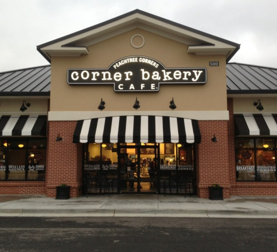 corner bakery cafe peachtree corners
