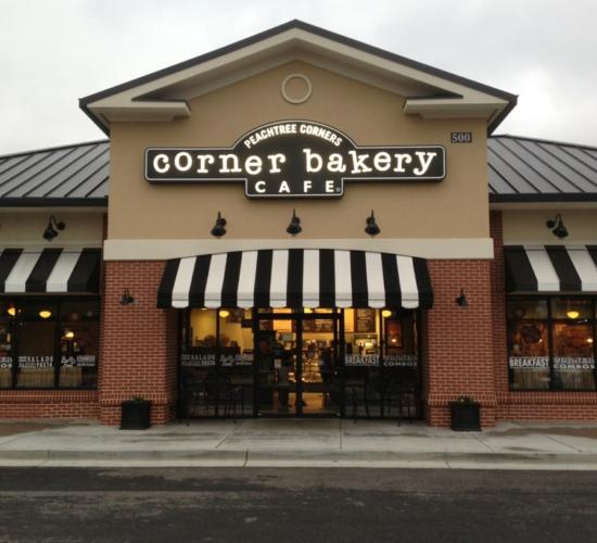 corner bakery cafe peachtree corners