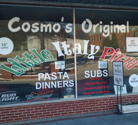 cosmos little italy pizza