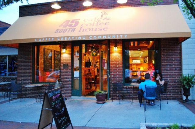 45 South Cafe storefront